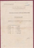 010518A - AVIATION 1918 Liste Accessoires électriques Montés En Usine AVION BREGUET 14 A2 - Manuali