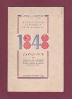 010518A - CATALOGUE 1848  Expo Monnaies Médailles Préface MG BOURGIN - Numismatique Monnaies Billets Artistes - Otras Monedas