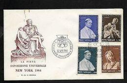 Vatican 1964 Universal Exhibition New York 22 APR 64, FDC - FDC
