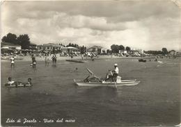 X1934 Lido Di Jesolo (Venezia) - Panorama Visto Dal Mare / Viaggiata 1955 - Italia