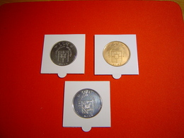 LOT PIECES 1.5, 3 ET 30 EURO TEMPORAIRE VILLE DE BEAUMONT-PERIGORD - Euros Of The Cities