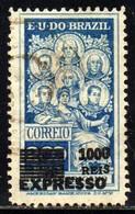 Brasil 344 Panamericano Sobrestampado U - Gebraucht