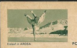 Carte Neuve  N° 182 - 121  Eislauf In AROSA (patinage - Sports) - Ganzsachen