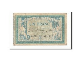 Billet, France, Marseille, 1 Franc, 1915, TB, Pirot:79-49 - Chamber Of Commerce
