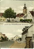 """CP De Gruss Aus MÜHLHAUSEN """" Oberfranken """"   Markplatz / Bahnhofstrasse - Bamberg"""