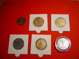 LOT 6 PIECES EURO TEMPORAIRE VILLE DE BEAUVAIS - Euros Of The Cities