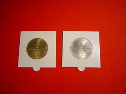 LOT PIECES 1 ET 2 EURO TEMPORAIRE VILLE DE BERCK SUR MER - Euros Of The Cities