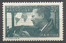 "FR YT 337 "" Aviateur Jean Mermoz "" 1937 Neuf** - Frankreich"