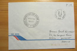 Bureau Postal Militaire 645 De YANBU (Guerre Du Golfe - 1991) - Military Postmarks From 1900 (out Of Wars Periods)