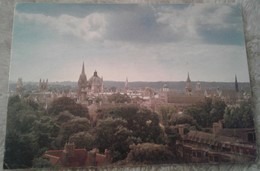 Inghilterra - Oxford - Skyline From The Top Of The Biochemistry Building 1985 - Oxford