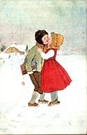 éditeur BKWI 599-6 Vienne, Enfants S'embrassent - Illustrateurs & Photographes