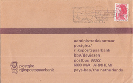 Nederland - Postgiro En Rijkspostspaarbank - Buitenlandenveloppe - La-Croix-Valmer - Arnhem - G39 Bbv Ah I - Poststempels/ Marcofilie