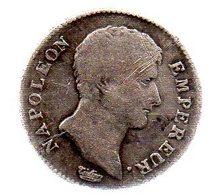 1 Franc. NAPOLEON EMPEREUR. AN 13.A.TB. - France