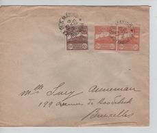 San-Marino Repubblica 13/5/1925 Ufficio Postale Di Citta To Belgium PR5187 - Saint-Marin