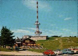! Moderne Ansichtskarte Gaisbergspitze Salzburg, Autos, Cars, VW Käfer, UKW Sender, Volkswagen, Voitures - PKW