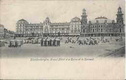 Blankenberghe - Grand Hôtel Des Bains Et Le Kursaal - Pas Circulé - Dos Non Séparé - TBE - Blankenberge
