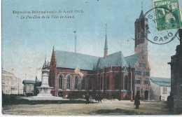 Gent - Gand - Exposition Internationale 1913 - Le Pavillon De La Ville De Gand - Circulé - Animée - BE - Gent