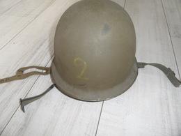 Casque TAP 51,modèle Avec Liner Parachutiste,daté 1953,indochine,algérie,bep,rep,rcp,légion. - Casques & Coiffures