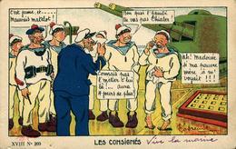 Fantaisie Militaire, Soldat Caserne Humour  Illustrateur GODREUIL Les Consignés - Ohne Zuordnung