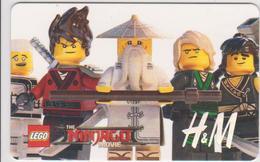 GIFT CARD - SWITZERLAND - H&M 75 - LEGO NINJAGO - Gift Cards