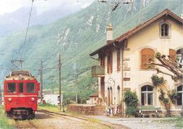 San Vittore  Bahn - TI Tessin