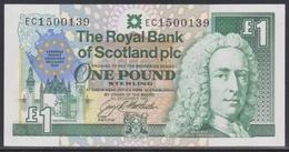 Scotland 1 Pound 08.12.1992 UNC - 1 Pound