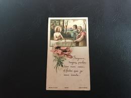 9057 - «Seigneur Daidnez Parler Dans Mon Coeur, Et Faites Que Je Vous écoute» - Images Religieuses