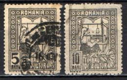 ROMANIA - 1916 - SIMBOLO DELLA CARITA' - USATI - Usati