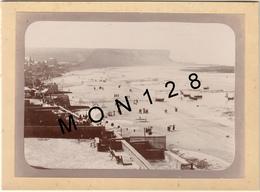 ARROMANCHES 18 AOUT 1895-PHOTO D'ORIGINE 17,5x12,5 Cms COLLEE SUR CARTON - Old (before 1900)