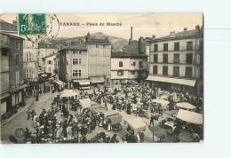 TARARE - Place Du Marché Animée - 2 Scans - Tarare