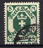 Danzig 1922 Mi 108, Gestempelt [010518XXII] - Dantzig