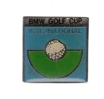Pin's  - BMW   - GOLF CUP INTERNATIONAL - BMW