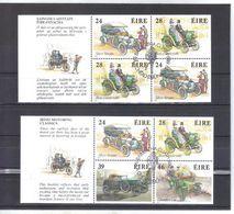 KUR42 IRLAND  1989  Michl  671/74  2 Markenheftblätter Used / Gestempelt Siehe ABBILDUNG - 1949-... Republik Irland