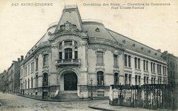 SAINT ETIENNE Condition Des Soies Chambre  De Commerce 1913 - Saint Etienne