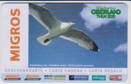 GIFT CARD - SWITZERLAND - MIGROS 330 - BIRD - Gift Cards