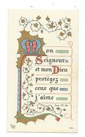 IMAGE PIEUSE .. Communion De Vincent TIMOTHEE, Eglise St Julien De DOMFRONT (61), En 1953 - Devotieprenten