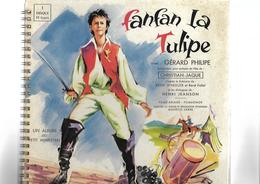 Disque 33 T  Fanfan La Tulipe Avec Gérard Philipe Album Du Petit Menestrel - Vinyl Records