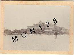 SAINT MALO 1895 -FORT NATIONAL - PHOTO D'ORIGINE 17,5x12,5 Cms COLLEE SUR CARTON DUR - Photos