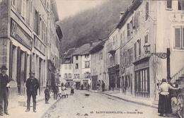 (42)   ST HIPPOLYTE - Grande Rue - Saint Hippolyte