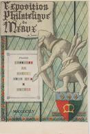 Meaux Exposition Philatélique 1945 - Bolli Commemorativi
