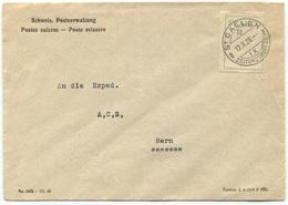 1789 - FRANCO Auf Brief Mit Stempel ST. GALLEN 12.X.28 - Portofreiheit