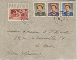 Vietnam Lettre De 1952 Saigon Pour La France - Viêt-Nam