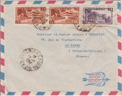 Vietnam Lettre De 1954 Saigon Pour La France - Viêt-Nam