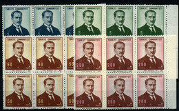 2585-Turquía Nº 1859/62 - Turkey