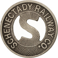 États-Unis, Schenectady Railway Company, Jeton - Professionnels/De Société