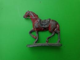 Ancien Cheval En Plomb (54g) - Horses