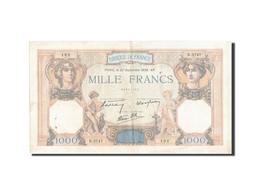 Billet, France, 1000 Francs, 1 000 F 1927-1940 ''Cérès Et Mercure'', 1938 - 1871-1952 Circulated During XXth