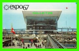 EXPOSITIONS - EXPO67, MONTRÉAL - LE PAVILLON DE L'UNION SOVIETIQUE - No EX207 - ANIMÉE - - Expositions