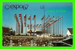 EXPOSITIONS - EXPO67, MONTRÉAL -  LE PAVILLON CONSACRÉ AUX NATIONS UNIES- No EX218 - - Expositions