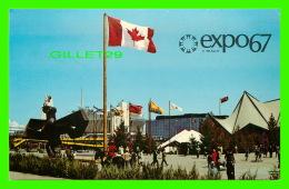 EXPOSITIONS - EXPO67, MONTRÉAL - VUE D'ENSEMBLE DE L'ILE NOTRE-DAME - No EX222 - - Expositions